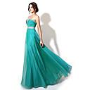 正式なイブニングドレス - 輝き& ビーイングでaラインの恋人の床の長さのシフォンを輝かせて