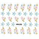 花型/かわいい/結婚式 - フィンガー/指スタイル - 3Dネイルシール - 10.5*7.5cm CM