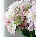 豪華な大規模なカラフルなピンクのhyfrangeas造花