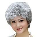 zahraniční obchod stará paruka prodávat jako horké koláče stříbřitě bílý krátký kudrnatou parukou