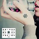 タトゥーステッカー - Non Toxic/腰/Waterproof - 子供用/女性/男性/大人/青少年 - 紙 - 14.5*9.5cm(5.71*3.74in) - パターン - 1 個