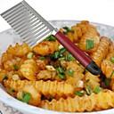visoke kvalitete od nehrđajućeg čelika valovitost rezač za krumpir