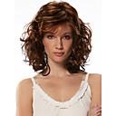 ženy syntetický multi-color paruka vlnité středně umělých vlasů paruka