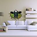 3d kráva samolepky na zeď obrazy na stěnu