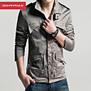 MANWAN WALK®Men's Fashion Army Design Slim Stand Collar Fit Casual Jacket