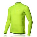 SPAKCT® Biciklistička majica Muškarci Dugi rukav Bicikl Prozračnost T-majica / Biciklistička majica / Majice 100% poliesterKlasika / Slim