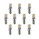 E14 / G9 / G4 LEDコーン型電球 T 58 SMD 3014 200-220 lm 温白色 / クールホワイト 装飾用 交流220から240 V 10個