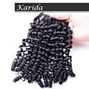 karida髪深い波4x4の安い在庫シルク基地閉鎖、高品質バージンペルーヘアシルク基地閉鎖
