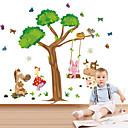 zidne naljepnice na zid naljepnice stil crtani životinja ljuljačka PVC zidne naljepnice