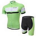 Biciklistička majica s kratkim hlačama Muškarci Kratki rukav BiciklProzračnost / Moisture Permeability / Reflektirajuće trake / Povratak