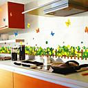 zidne naljepnice na zid naljepnice stil travnjaci leptir PVC zidne naljepnice