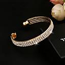 Bangles / Manchettes Bracelets / Bracelets de tennis ( Cristal / Alliage ) Mariage / Soirée / Quotidien / Casual