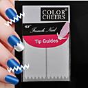 150pcs profesionalna izrada obrazac nail art alat (5x30pcs) # 17
