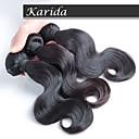 no osekávání a ne zamotat panna malajského remy vlasy, 3 ks / lot levné brazilský vlasy tkaní