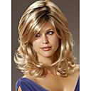 vysoce kvalitní capless dlouhé mono top lidské vlasy paruky 7 barev na výběr