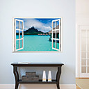 3Dの壁のステッカー壁のステッカー、美しい風景のPVCウォールステッカー