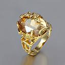 Prsteny s kamenem Pozlacené Módní Zlatá Šperky Svatební Párty Denní Ležérní 1ks
