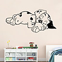samolepky na zeď lepicí obrazy na stěnu ve stylu soporous pes PVC samolepky na zeď