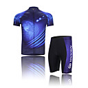 Biciklistička majica s kratkim hlačama Muškarci Kratki rukav BiciklProzračnost / Quick dry / Moisture Permeability / Reflektirajuće trake