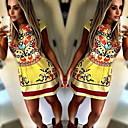 Přiléhavé na tělo/Ležérní kulatý tvar - Bez rukávů - ŽENY - Dresses ( Polyester )