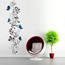 ウォールステッカーウォールステッカースタイル蝶の花籐PVCウォールステッカー