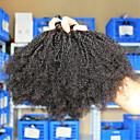 """3pcs / puno 10 """"-26"""" Indian boja djevica kosa prirodno kovrčava afro crna kinky ljudske kose plete"""