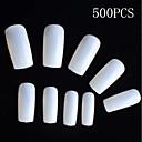 500 kom prirodna boja punih noktiju savjete akrila nail art savjete