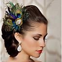ruční výroba svatební péřová vlasy okouzluje headpieces fascinators 004