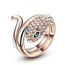 指輪 ファッション パーティー ジュエリー 合金 / キュービックジルコニア 女性 ステートメントリング 1個,ワンサイズ ゴールデン