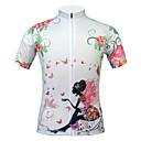 JESOCYCLING® Biciklistička majica Žene Kratki rukav BiciklProzračnost / Quick dry / Ultraviolet Resistant / Prašinu / Antistaticna /