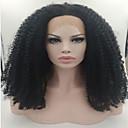 jeftini 100% Brazilski djevica ljudske kose afro kinky kovrčava perika puna čipke perika za crne žene