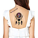 Yimei - Tetovaže naljepnice - Others - za Žene/Muškarci/Odrasla osoba/Boy - Uzorak - 17*10cm - Non Toxic/Waterproof - 5 kom. - (  Šaren -