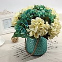 hrpa 6 vilica poliesterskih hortenzije umjetnog cvijeća (1pc)