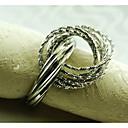 metalni salveta prsten, željezo, 1.77inch, set od 12