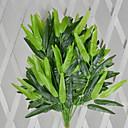 bambus poliester biljke umjetnog cvijeća (1pc)
