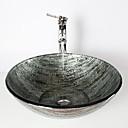 アンティーク調 1.2*42*14.5 円形 シンク材質 あります 強化ガラス 洗面ボウル 水栓 取付リング 排水ドレイン