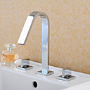 rasprostranjena dvije ručke tri rupe u krom kupaonica sudoper slavinu