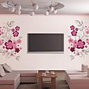 美しい花テレビの背景面の壁のステッカー壁の装飾、PVCのリムーバブル