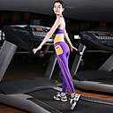 Žene Trčanje Biciklizam Hulahopke Potkošulja Kompleti odjeće/odijela Quick dry Proljeće Ljeto Jesen Zima Yoga Sposobnost Trčanje Chinlon