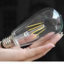 st58led 6 w 2300 KB teplé žluté 2700K teplá bílá LED žárovky