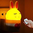 kreativni daljinski upravljač s infracrvenim zrakama kunića ABS LED svjetla noćnog svjetla 110-220v
