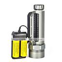 LED svítilny LED 3 Režim 8000 Lumenů Voděodolný / Dobíjecí / Odolný proti nárazům / Strike Bezel / Taktický / Nouzová situace Cree XM-L2
