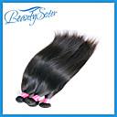 Peruanski djevica kosa ravno 4 kom 7a neprerađeno djevičansko Peruanski ravnu kosu, Rosa kose proizvodi jeftini kose