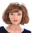 dama žene jeftini cijena na europskim i Americi svijetlo smeđe sintetičkih perika