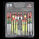 Úszóka Ribolov - 15 kom - Fluorescentne / Svjetleći Šaren Tvrde plastike Slatkovodno ribarstvo / Općenito Ribolov