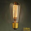 E27 40W st48 Edison izvor retro scene rasvjete luster ukras umjetnost svjetlo žarulje