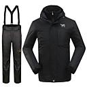 Muškarci Zimska jakna / Kompleti odjeće/odijela Skijanje Vodootpornost / Ugrijati / Vjetronepropusnost Zima CrnS / M / L / XL / XXL