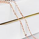Šperky Řetízky Svatební / Párty / Denní / Ležérní Zlaté 1ks Dámské Svatební dary