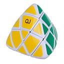 Qiji® Glatko Brzina Kocka Pyramorphix Brzina Magične kocke Obala / Crna Fade Plastika