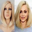 fashion lady blond barva středně dlouhou syntetické paruky